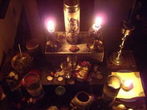 money spell altar